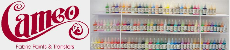 Welcome to Ginger's Cameo Fabric Paints