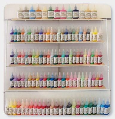 Ginger's Cameo Fabric Paints Paint Kits